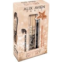 Alix Avien Mascara&Metalic Sexy Black Maskara + Bronz Göz Kalemi Set