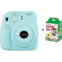 Fujifilm İnstax mini 9 + 20'Li Film Buz Mavisi Set