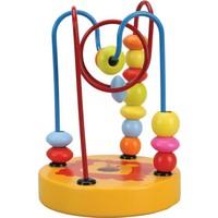 Sunman Ahşap Mini Koordinasyon Mama Sandalyesi Oyuncağı