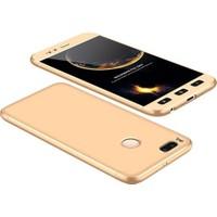Case 4U Xiaomi Mi 5X 360 Full Korumalı Kapak Altın