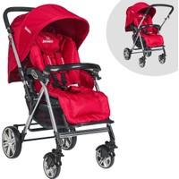 BT2050 Beneto Pasific Cift Yonlu Bebek Arabası BT2050 001 - Kırmızı