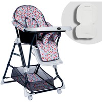 Baby Home BH-1450 Ayarlı Siyah Mama Sandalyesi