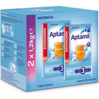 Aptamil 3 Devam Sütü 1200 gr - 2'li