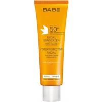 Babe Yüz İçin Güneş Koruyucu Spf50+ Light Texture 50 Ml