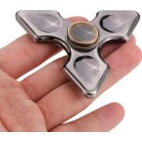 Metal Stres Çarkı Finger Fidget Spinner Yıldız Şekli Ninja Hand Spinner Anti Stres Oyuncak