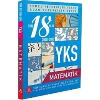 A Yayınları Yks Tytve Alan Yeterlilik Testi Matematik Son 18 Yılın Çıkmış Soruları