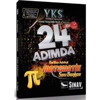 Sınav YKS 1. Oturum TYT Matematik 24 Adımda Özel Konu Anlatımlı Soru Bankası