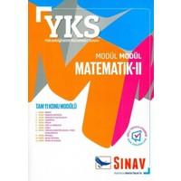Sınav YKS 2. Oturum Modül Modül Matematik 2 Konu Anlatımlı