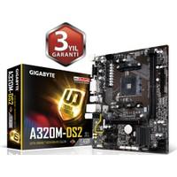 Gigabyte GA-A320M-DS2 AMD A320M Soket AM4 Ryzen DDR4 3200+(OC)Mhz Anakart