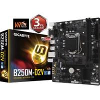 Gigabyte B250M-D2V Intel B250 2400MHz DDR4 Soket 1151 mATX Anakart