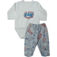 Baby Corner 2'li Zıbın Patikli Alt Takım - Super Boy
