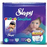 Sleepy Sensitive Bebek Bezi Jumbo Paket 6 Beden 24 Adet