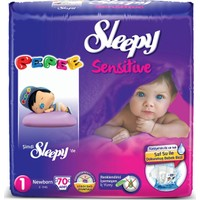 Sleepy Sensitive 1 Beden Yenidoğan 70'li