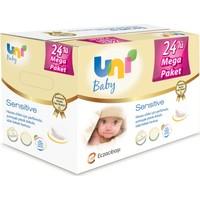 Uni Baby Sensitive Islak Havlu 24'lü Ekonomik Fırsat Paketi 24x56 (1344 Yaprak)