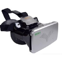 """Probiel Ritech Riem 3 Google Cardboard Plastik Bluetooth Kumandalı 6"""" Sanal Gerçeklik Gözlüğü Siyah"""
