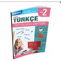 Mutlu Yayınları 2. Sınıf Artı Türkçe Test Çalışma Defteri