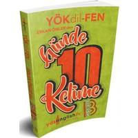 Benim Hocam Yayınları Yökdil Fen Günde 10 Kelime Cep Kitabı