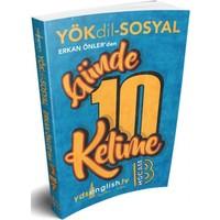 Benim Hocam Yayınları Yökdil Sosyal Günde 10 Kelime Cep Kitabı
