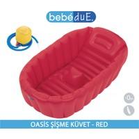 Bebedue Oasis Şişme Küvet - Kırmızı