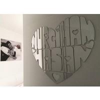 Aşk Aynası - 55x45cm İsimli Ayna