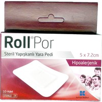 Rollpor Yara Bandı 5X7,2 Cm