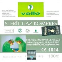 Vello Steril Gaz Kompres 100 Adet