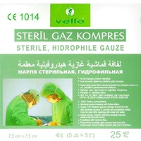 Vello Steril Gaz Kompres 25 Adet