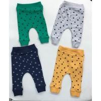 Mini Okyanus 4'lü Patiksiz Pantolon Set
