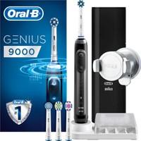 Oral-B Genius Siyah Pro 9000 Şarj Edilebilir Diş Fırçası