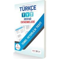 Farklı Sistem Tyt 1. Oturum Türkçe 20X40 Denemeleri