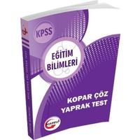 Kısayol Kpss Eğitim Bilimleri Kopar Çöz Yaprak Test