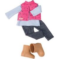 Our Generation Kıyafet Seti - Vest & Jeggings