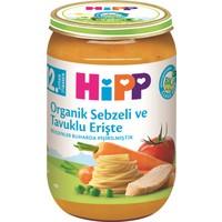 HiPP Organik Sebzeli Ve Tavuklu Erişte 220 gr.