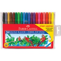 Faber Castel 155120 keçeli kalem 20'li