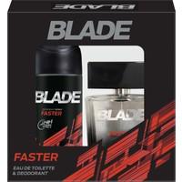 Blade Faster Edt 100 ML + Deodorant 150 Ml