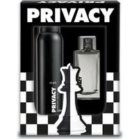 Privacy Men Edt 100 Ml Erkek Parfümü + 150 Ml Deodorant Set