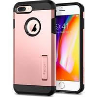 Spigen Apple iPhone 8 Plus - iPhone 7 Plus Kılıf Tough Armor 2 Rose Gold - 055CS22245