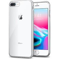 Spigen Apple iPhone 8 Plus - iPhone 7 Plus Kılıf Liquid Crystal 4 Tarafı Tam Koruma Crystal Clear - 043CS20479