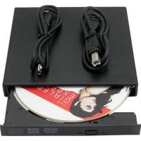 Platoon Harici Slim Dvd Rw Usb 2.0 Taşınabilir External Dvd Rw Yazıcı Ve Okuyucu