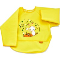 BabyJem Poli Muşamba Kollu Önlük / Sarı