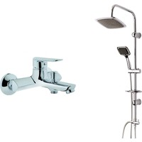 Eczacıbaşı Artema Punto Deco Banyo Bataryası + Modamix Marakech Tepeduş Seti