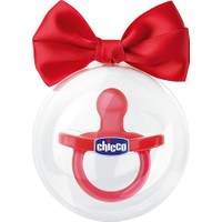 Chicco Physio Soft Kırmızı Emzik Silikon 12 ay+