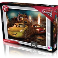 Disney Cars Puzzle (Yapboz) 200 Parça