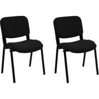 Hepsiburada Home Form Sandalye Siyah - 2 Adet