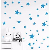 Decolight Mavi Yıldız Yağmuru Sticker