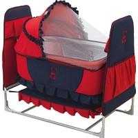 Happy Baby Eko Toy Beşik - Kırmızı Lacivert