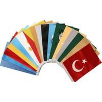 Gönder Bayrak Gb Eski Türk Bayrakları 17Li ( Direksiz Kaidesiz )