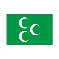 Gönder Bayrak - Üç Hilal Bayrağı 50X75Cm