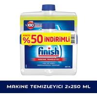 Finish Bulaşık Makinesi Deterjanı MakineTemizleyici Sıvı 2'li Paket