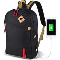 My Valice Smart Bag FREEDOM Usb Şarj Girişli Akıllı Sırt Çantası Siyah